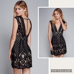 NWT Free People One Million Lovers Lace Dress